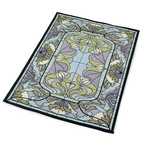 Arts & Crafts Thistle and Rosebud Warm Mist Placemat