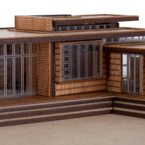 First Usonian House by Model Landmarks