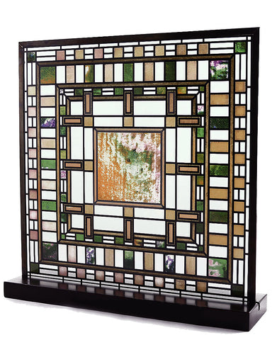 Frank Lloyd Wright D. D. Martin House Skylight Stained Glass Angle