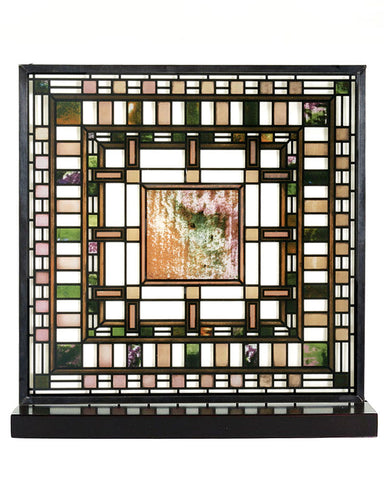 Frank Lloyd Wright D.D. Martin House Stained Glass
