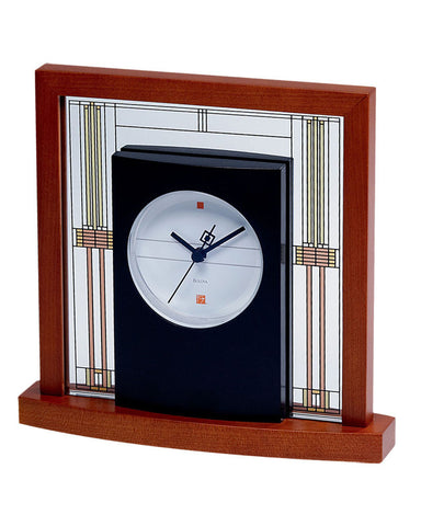 Frank Lloyd Wright Willits Table Clock 7756
