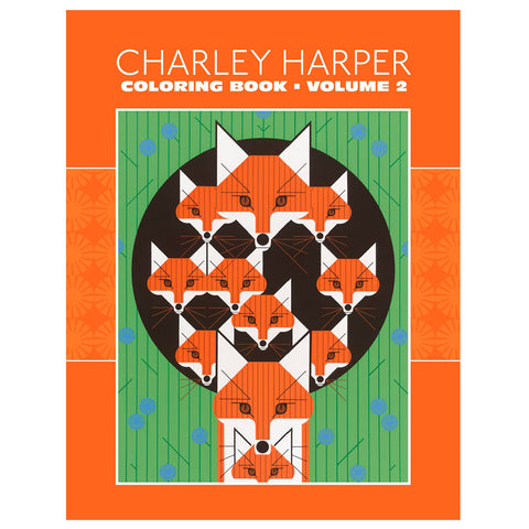 Charley Harper Coloring Book Volume 2 Cover