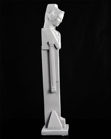 Frank Lloyd Wright Tabletop Sprite with Sceptre (side)