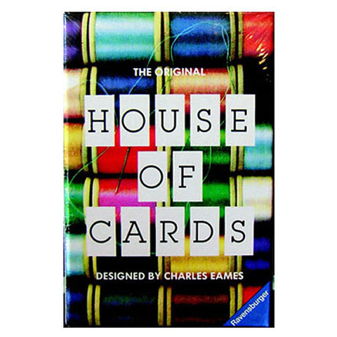 Eames House of Cards Small