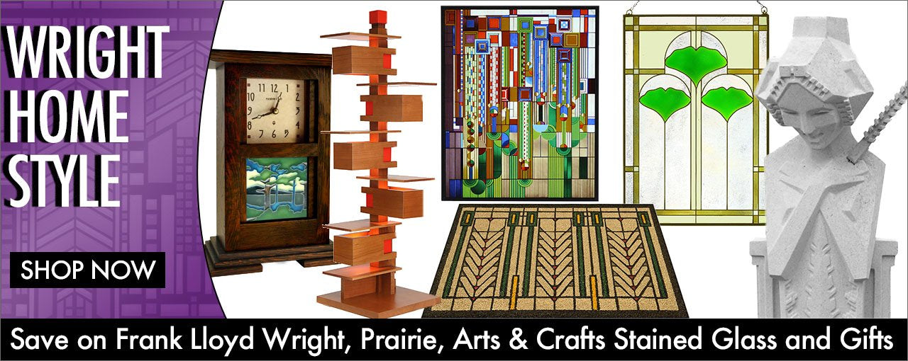 Frank Lloyd Wright Home Accents and Gifts