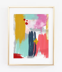 Modern Abstract Art Print 5 - Grace