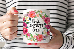 Best Grandma Ever Mug - Mothers Day Gift Mug - Q0019