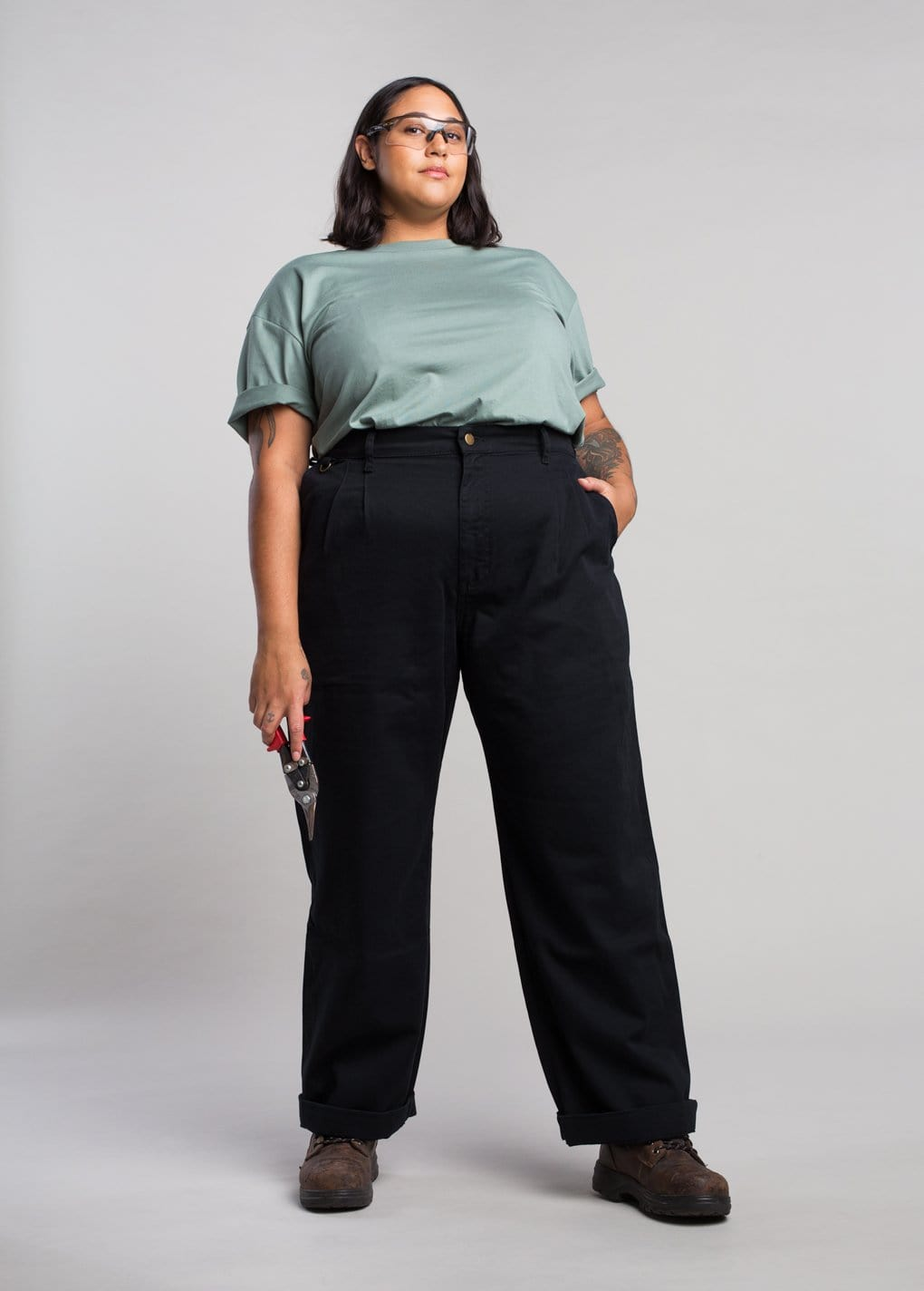 Relaxed Work Pants