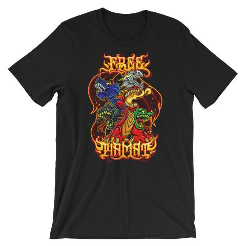 FREE TIAMAT LIMITED EDITION T BY URBAN AZTEC (5 COLORS)