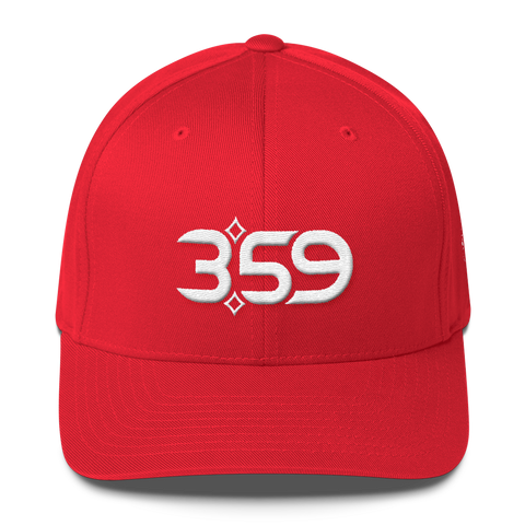 3:59 Hat (Red/White)