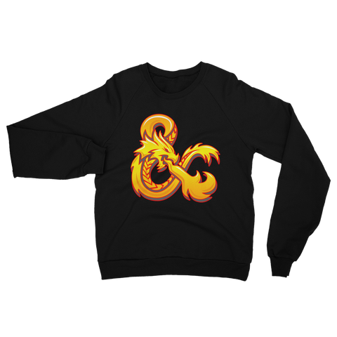 DUNGEONS & DRAGONS Fleece Sweatshirt BY URBAN AZTEC (JESSE HERNANDEZ)