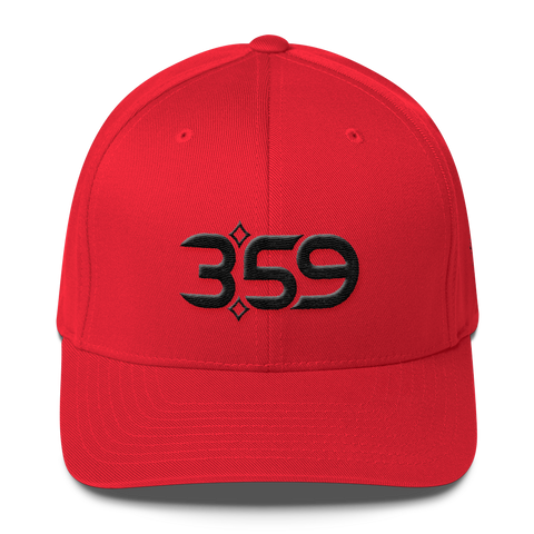 3:59 Hat (Red/Black)