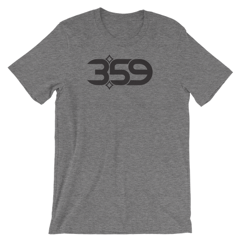 3:59 HEATHER Short-Sleeve Unisex T-Shirt