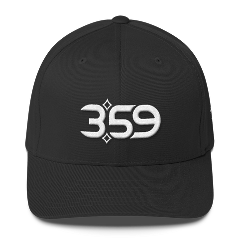 3:59 Hat (Black/White)