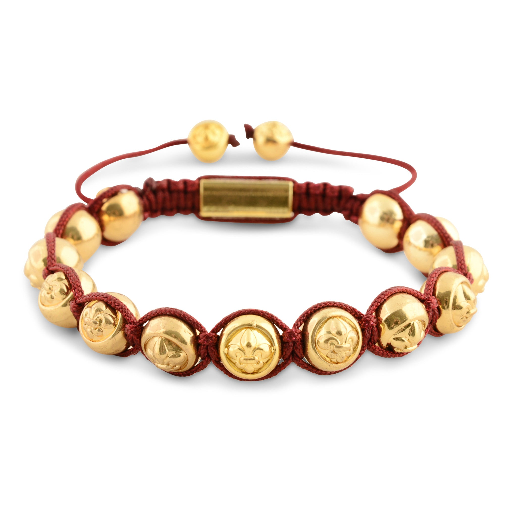 Signature Red & Gold Bracelet