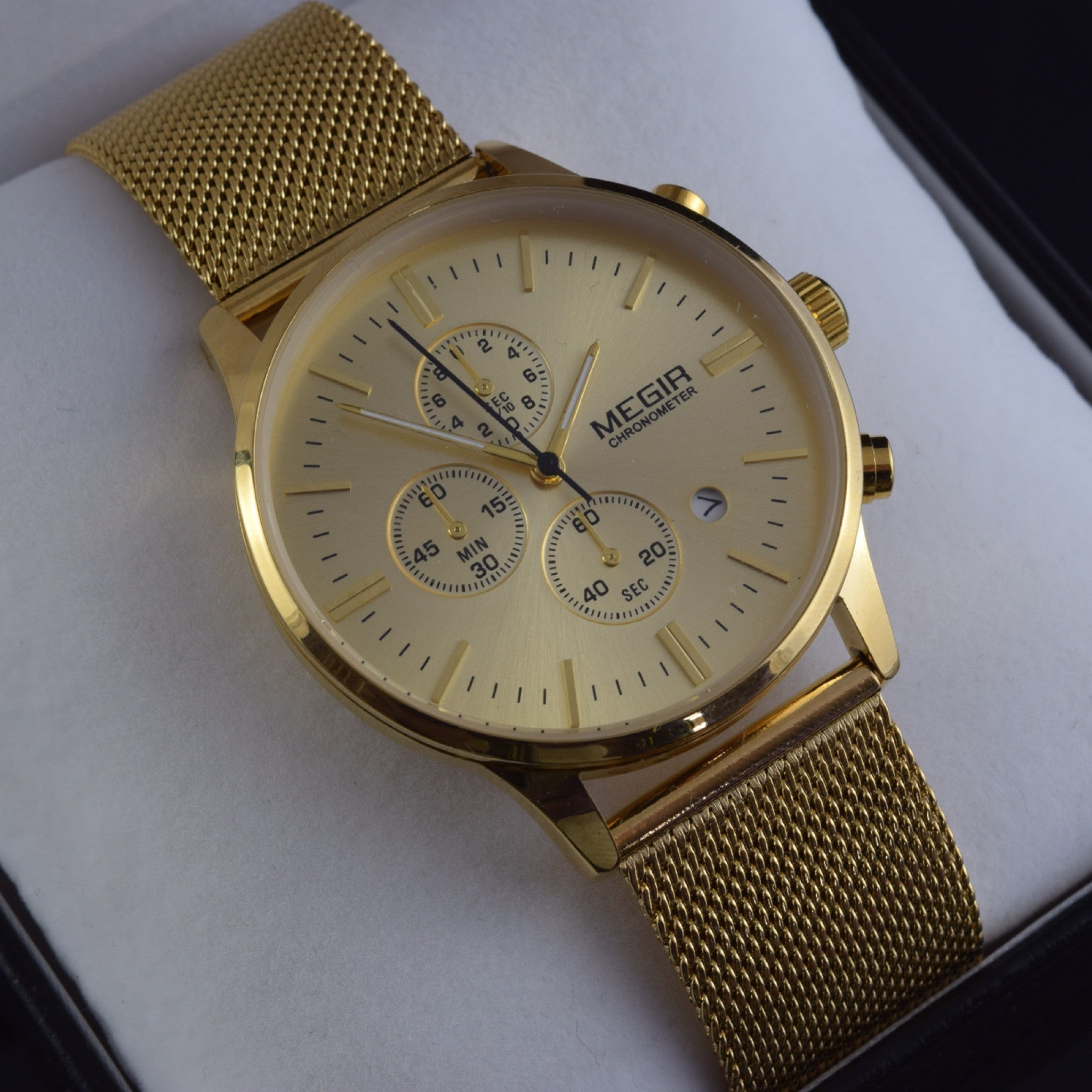 Liberty Gold Tone Chronograph Men's Watch