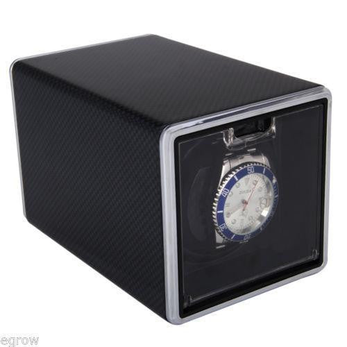 Carbon Fibre Single Watch Winder