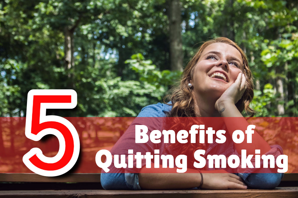5 Benefits of Quitting Smoking