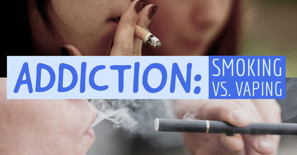 Smoking is More Addictive Than Vaping