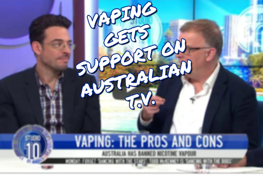 Vaping Receives Support on Public T.V.