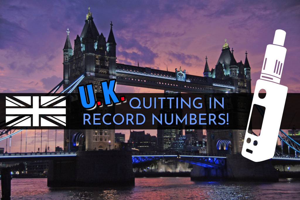 UK Quitting in Record Numbers!