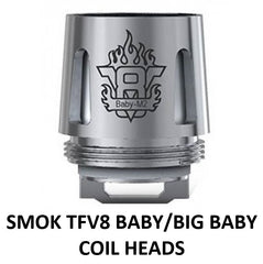 SMOKE TFV8 BABY AND BIG BABY COIL HEAD, ONTARIO VAPE COMPANY, ONTARIO VAPE SHOP, OVC