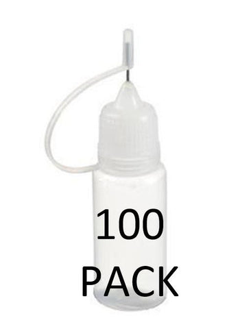 BOTTLE - NEEDLE TIP </p>10ml - 100 pack