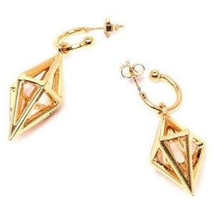Geometric Triangle Earrings with jacket from The Fronay Collection - My Beautiful Daughters