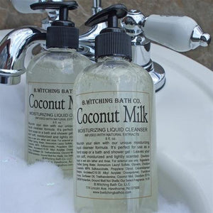 B. Witching Bath Coconut Milk Moisturizing Body Cleanser - 8 oz. - My Beautiful Daughters