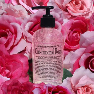 B. Witching Bath One-hundred Roses Moisturizing Liquid Cleanser - 8 oz. - My Beautiful Daughters
