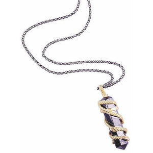 Hydra Snakes Hematite Necklace from Völu joyas
