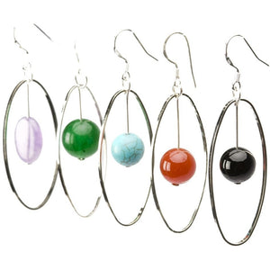 Elemental Gemstone Earrings - My Beautiful Daughters