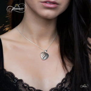 "Elegant Silver Plated ""Mother & Daughter Forever"" Necklace - 925 Silver - My Beautiful Daughters"