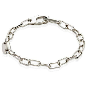 Men's Sterling Silver Cable Bracelet - My Beautiful Daughters