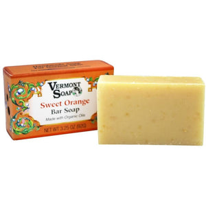 Vermont Organics Bar Soap - Sweet Orange - 3.25 oz. - My Beautiful Daughters