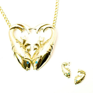 Bisjoux Pisces Pendant Necklace - My Beautiful Daughters