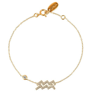 Aquarius Zodiac Bracelet - My Beautiful Daughters