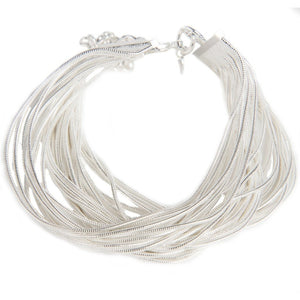 Olina Sterling Silver Rope Bracelet - My Beautiful Daughters