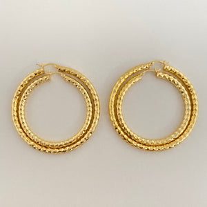 "Textured Hoops 1"" - My Beautiful Daughters"