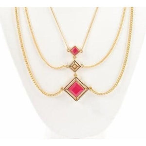 Red Ruby Statement Necklace from Völu joyas - My Beautiful Daughters