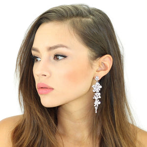 Cascading Crystals Earrings by Kristin Perry - My Beautiful Daughters