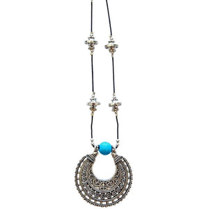 Lana Gemstone Necklace from PEACE + LOVE +BLING - My Beautiful Daughters