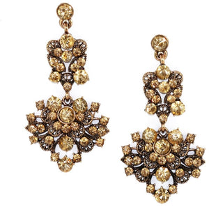 Floral Gem Earrings by Kristin Perry - My Beautiful Daughters