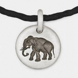 Elephant Charm Bracelet in Sterling Silver from Snake Bones - My Beautiful Daughters