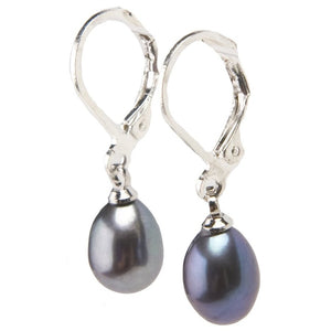 Misty Pearl Drop Earrings - My Beautiful Daughters