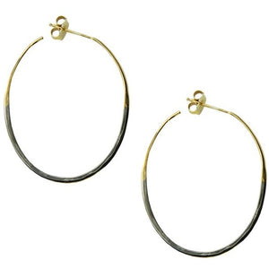 Two Tone Color Hoops by SÍSÍ Design - My Beautiful Daughters