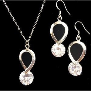 Clara Crystal and Sterling Silver Earrings - My Beautiful Daughters