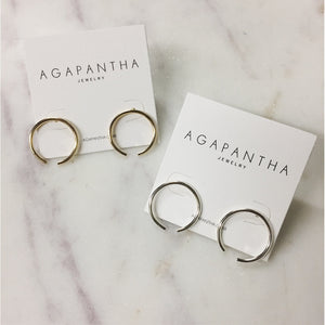Bethany Studs from Agapantha Jewelry