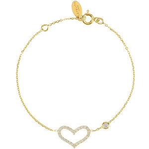 Open Heart Bracelet by Latelita London