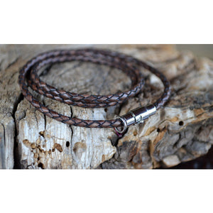 Antique Brown Skinny Wrap Bracelet from Payton Jewelry Design - My Beautiful Daughters